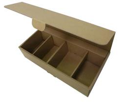 NO.122 罐装咖啡礼品盒纸箱包装设计展示