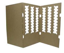 NO.232 电子部件搬运用托盘-缓冲材料纸箱包装设计展示