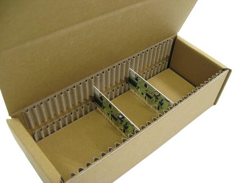 NO.282 奔腾桌面小风扇 防摔防震纸箱包装设计展示