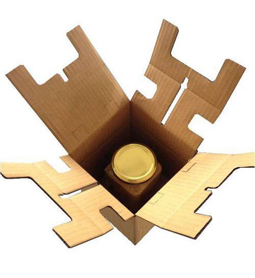 单瓶灌装产品包装盒No.A023