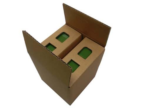 内置隔挡一片式纸箱No.A010
