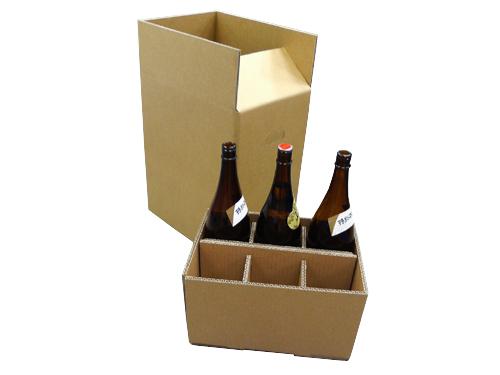一片式内隔六瓶装纸箱No.A037