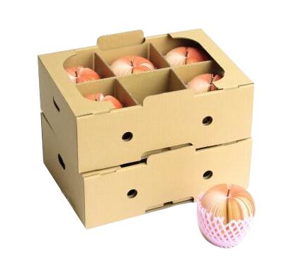 内置格挡水果包装箱No.A046