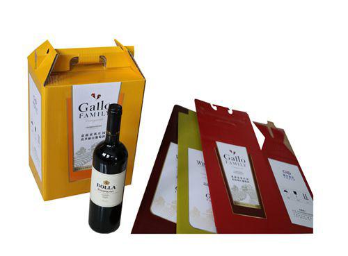 红酒六瓶装彩箱No.B004