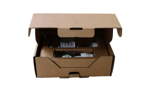 内置缓冲隔挡飞机盒/披萨盒No.A052