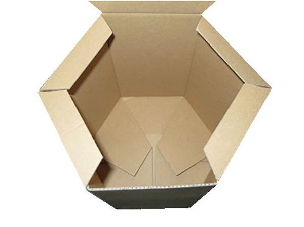 六边形三层单瓦楞纸箱No.A056